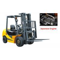 Mechanical Four Wheel Forklift Diesel Engine 7000kg Capacity Comfortable Design