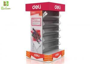 China Supermaket POP POS Displays , Retail Cardboard Free Standing Display Units on sale