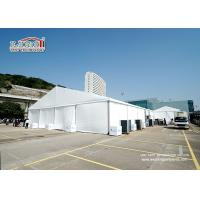 1100 Square Large Meters Outdoor Exhibition Tents With Interior Decoration Linings & Curtains