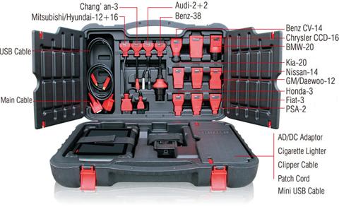 Autel MS908P Accessories Adaptors