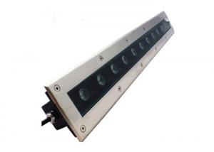 China Linear Recessed In Ground Led Driveway Lights Stainless Steel Housing Easy Installation on sale