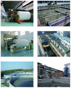 China paper industry waste water treatment plant on sale