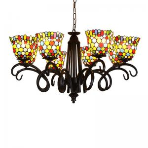 China Dale tiffany lamp shade Chandelier Pendant lamp Fixtures (WH-TF-14) on sale