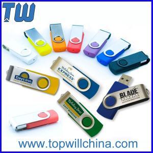 China Promotion Twister Pen Drive 1GB 2GB 4GB 8GB 16GB 32GB Capacity on sale