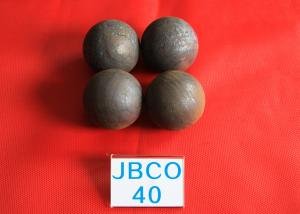 China Wear-resistant Grinding Media Steel Balls B2 D40mm Steel Ball for Copper Mine Dressing Plant on sale