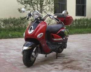 China Electric / Kick 150cc Gas Powered Scooters For Adults With Front Disc Rear Drum on sale