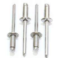 "3/16 "" X 3/4 "" Decorating Aluminum Blind Rivets For Automatic Riveting Machine 4.8 X 18mm"