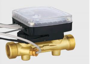 China Ultrasonic heat water meter's sensor body, brass flow section, Dia: DN15 - DN40 on sale