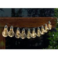 50 LED Outdoor Globe String Lights , Bulb Fairy Lights For Garden