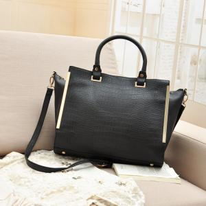 China UK boutique ladies' Atmosphere handbgas ,crocodile Pattern bodycross noble briefcase on sale