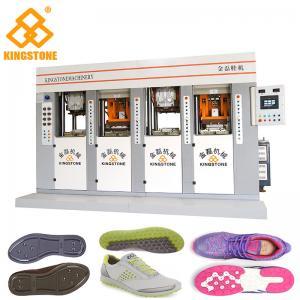 Static Shoe Sole Injection Moulding Machine , TPU TPR TR PVC
