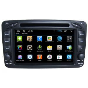 China 2 Din Car Radio Player Mercedes GPS Search Navigation Benz W209 on sale