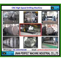 CNC High Speed Tube Sheet Drilling Machine Heat Exchanger & Pressure Vessel hole drilling machine