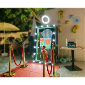 China Inflatable wholesale photobooth shell magic selfie mirror booth in china for sale on sale