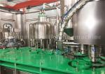 Rotary Orange Juice Bottle Filling Machine / Fruit Juice Bottling Packaging Plant 380V/50Hz