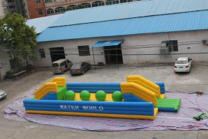China Outdoor Airtight Inflatable Sports Games Big Ball For Adult And Children supplier
