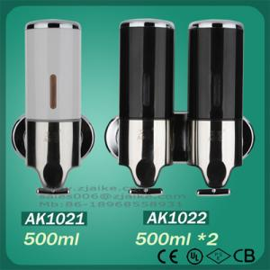 China Bathroom Accessories liquid soap dispenser toilet soap dispenser for hotel public  AK1021&AK1022 on sale