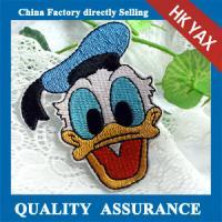 China china factory embroidery iron on patch ,iron on embroidery patch for hat,wholesale embroidery patch iron on on sale