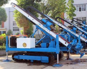 China 0~ 90 ° Hydraulic Crawler Deep Foundation Pit Anchor Drilling Rig on sale