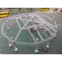 Outdoor Big Event Lighting Box Trusses Aluminum LED Spigot / Bolt Truss 12m - 30m