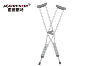 China White Black Underarm Crutches , Folding Forearm Crutches For Walking on sale