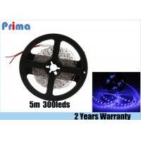 Blue LED Strip Lights 36W Power 12 Voltage 5M Length 300 SMD 5630 LEDs