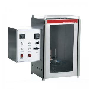 China EN 60903 Fire Testing Equipment Vertical Flame Tester with The Insulating Glove Fire Resistance Test on sale