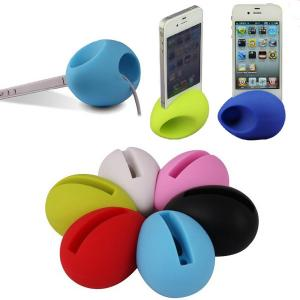 China Egg shaped phone stand / amplifier/speaker on sale