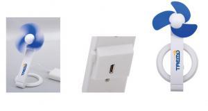 China USB folding fan Mini fan Quiet small fan Electronic promotional gifts on sale