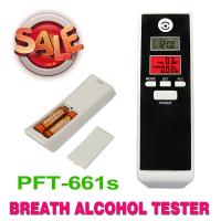 China Mini Digital Personal Alcohol Tester Black With Dual LCD Screen on sale