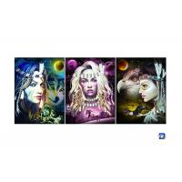 China Film Lamination Lenticular Flip , 3D Triple Transition Lenticular Poster 12x17 Inches on sale