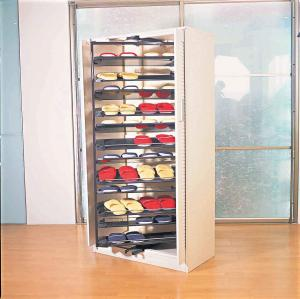 Abs And Steel Revolving Shoe Rack Organizer With 1694mm Height Multi Layer For
