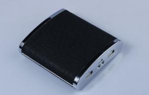 China Black 13000mah External Universal Portable Power Bank Portable USB Power on sale