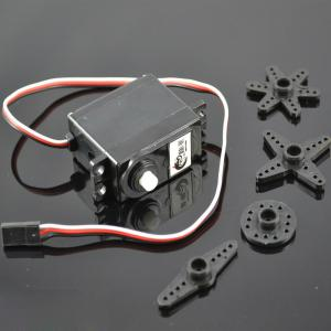 China Continuous Rotation Servo DC Gear Motor , Remote Control Car Parts on sale