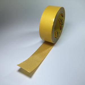 China Fiberglass Double Sided Adhesive Tape Clear Fiberglass Filament  In Hotmelt on sale