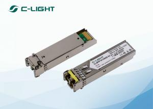 China DDM DOM CWDM sfp fiber modules 155M 1550nm 80km 100km SMF LC Dulplex on sale