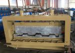 Professional Metal Building Hydraulic Floor Deck Sheet Roll Forming Machine 6kw 50-60HZ