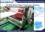 PP melt blown nowowen fabric making machine for face mask making