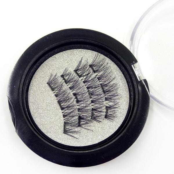 029f147755d Magnetic 3D false eyelashes with 3 magnets Handmade cilios Eye Lash Images