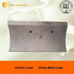 Quality Good Wear Resistance Ball Mill Liner Plate / Steel Liners for AG Mills and SAG for sale