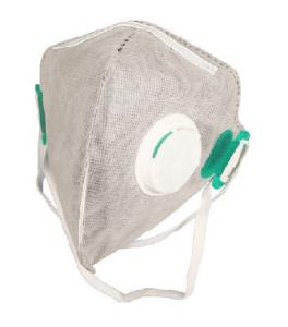 China 4 Layer FFP2 Respirator Mask Gray Color Non Stimulating With Activated Carbon on sale