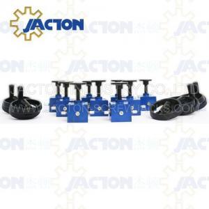 China Small lifting jacks Stainless steel screw jacks Rotating custom-made manual worm gear screw jack on sale