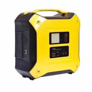 China 307WH AC220V 50HZ DC 5V 2.1A camping emergency power supply portable power station on sale