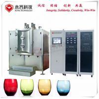 Arc Ion Vacuum Plating Equipment Wine Glass Bottles TiN Gold Coating