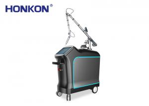 China Medical Q Switch Laser Treatment , Nd Yag Laser Tattoo Removal Machine on sale