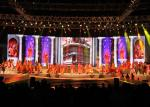 Semi Stage LED Screen P5 Full Color High Resolution 1/8 Scan Mode IP65 HD