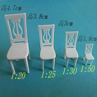 China All kinds of Scale miniature architectural model chair, office chair, bar chair models on sale