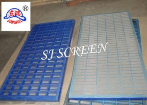 China SS 316 Mongoose Shale Shaker Screen 2 / 3 Layers Grey Color Long Work Life on sale