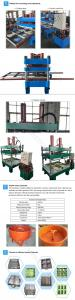 China Floor Brick / Rubber Tile Making Machine Multi - Layers For Playground on sale