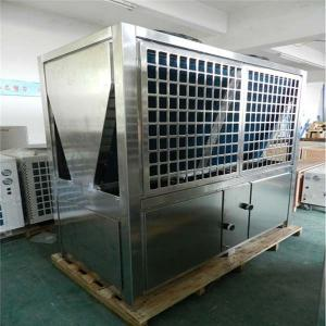 China Economical Heat Pump Air Conditioner , Air Source Heat Pump System For Hotel / Airports on sale